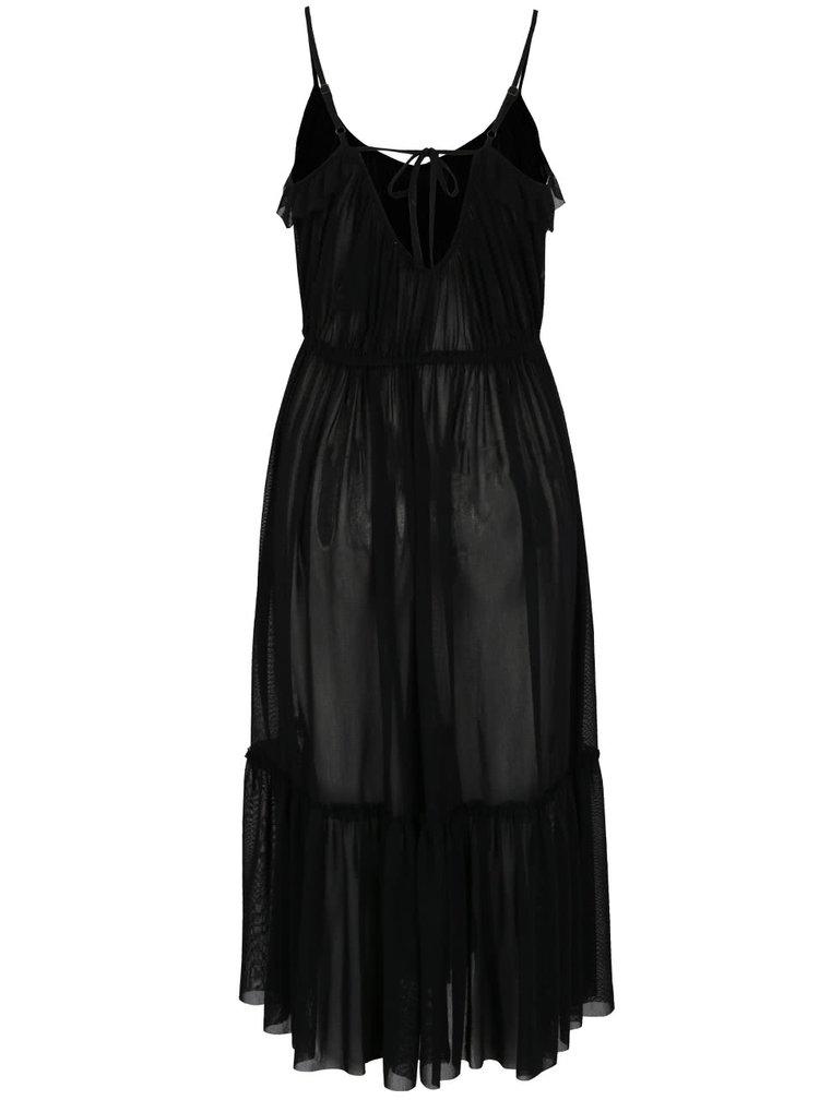 Rochie neagră Miss Selfridge din tulle