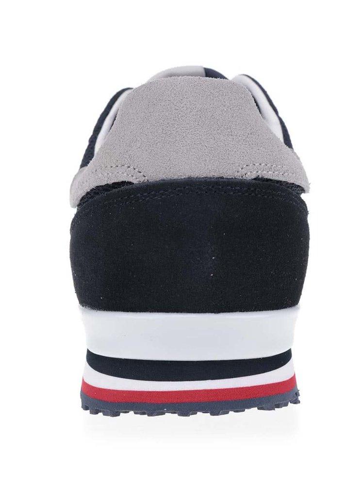 Modro-bílé pánské tenisky s detaily Pepe Jeans Tinker Jack