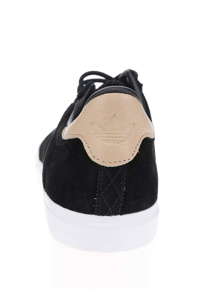 Černé pánské semišové tenisky adidas Originals Seeley Premiere