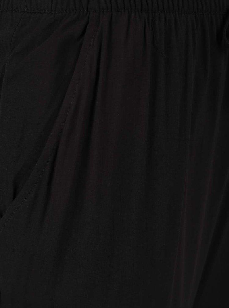 Černé volné kalhoty ONLY Nova