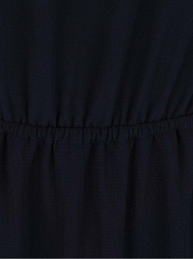 Rochie bleumarin ONLY Glam cu insertie din dantela