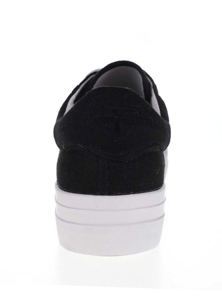 Bílo-černé tenisky Tamaris