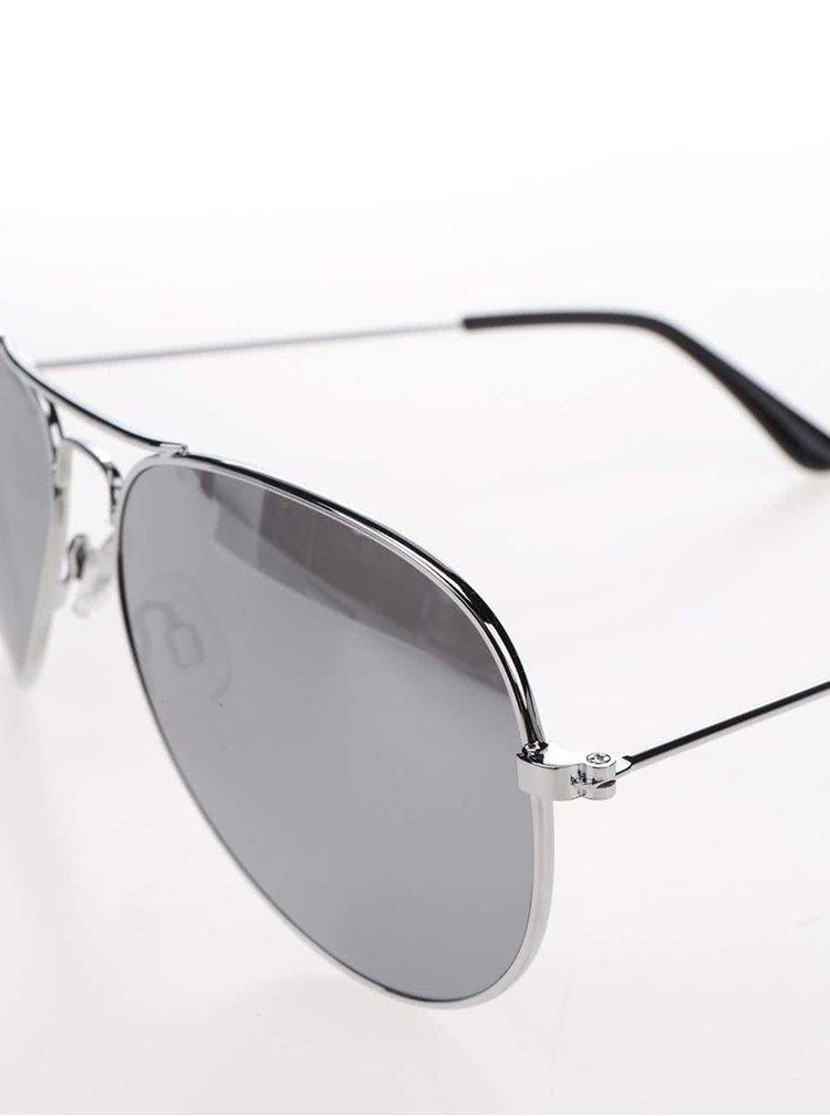 Sluneční brýle ve stříbrné barvě ONLY Basic