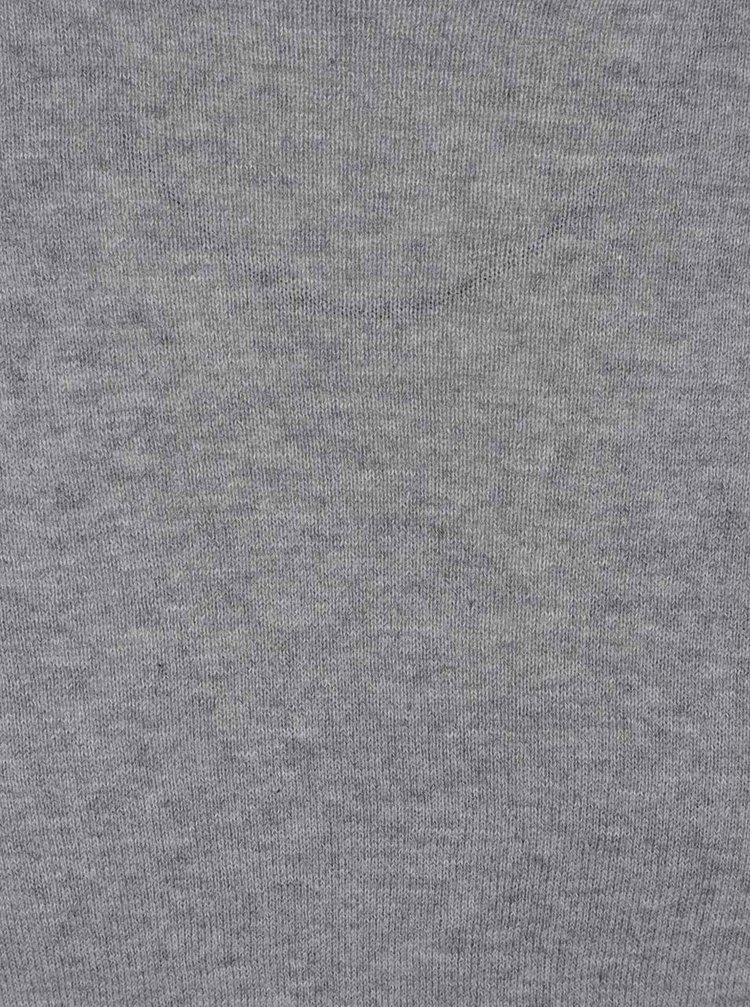 Bluză gri melanj ONLY & SONS Abacas din jerseu
