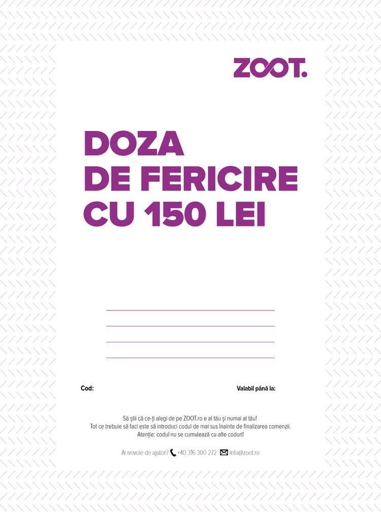 Card cadou electronic în valoare de 150 Lei