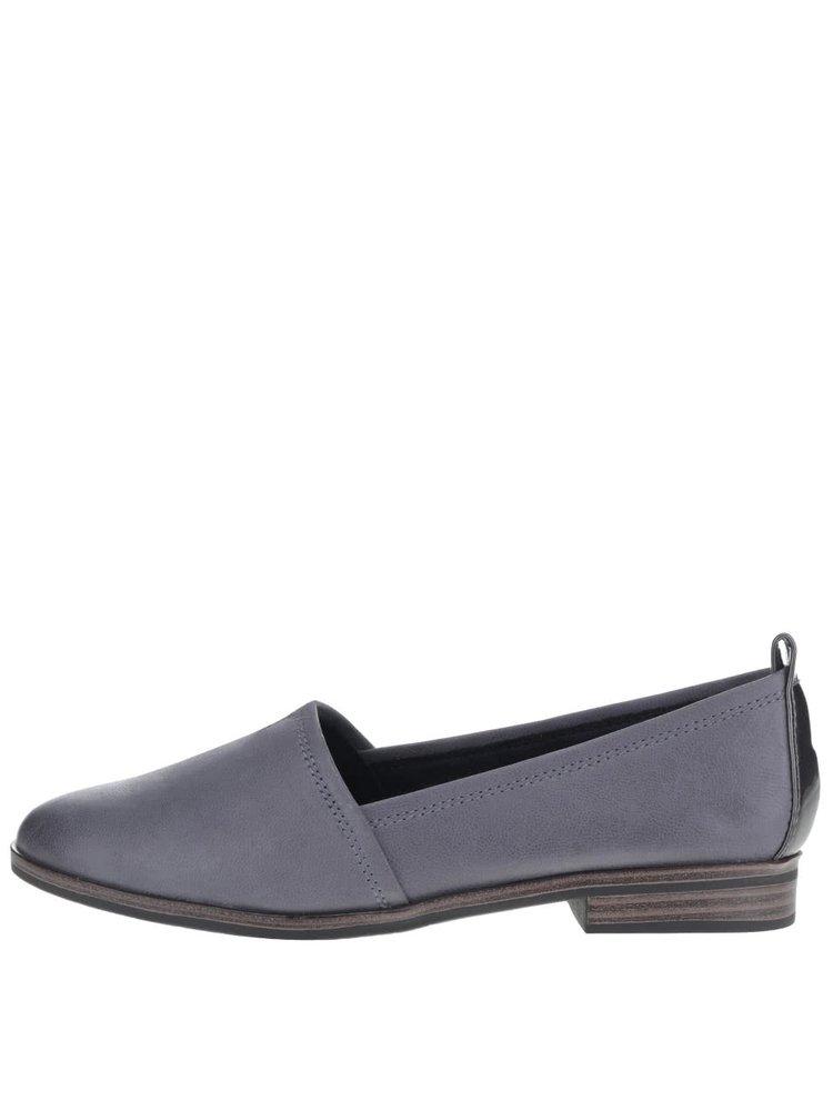 Pantofi loafer gri Tamaris