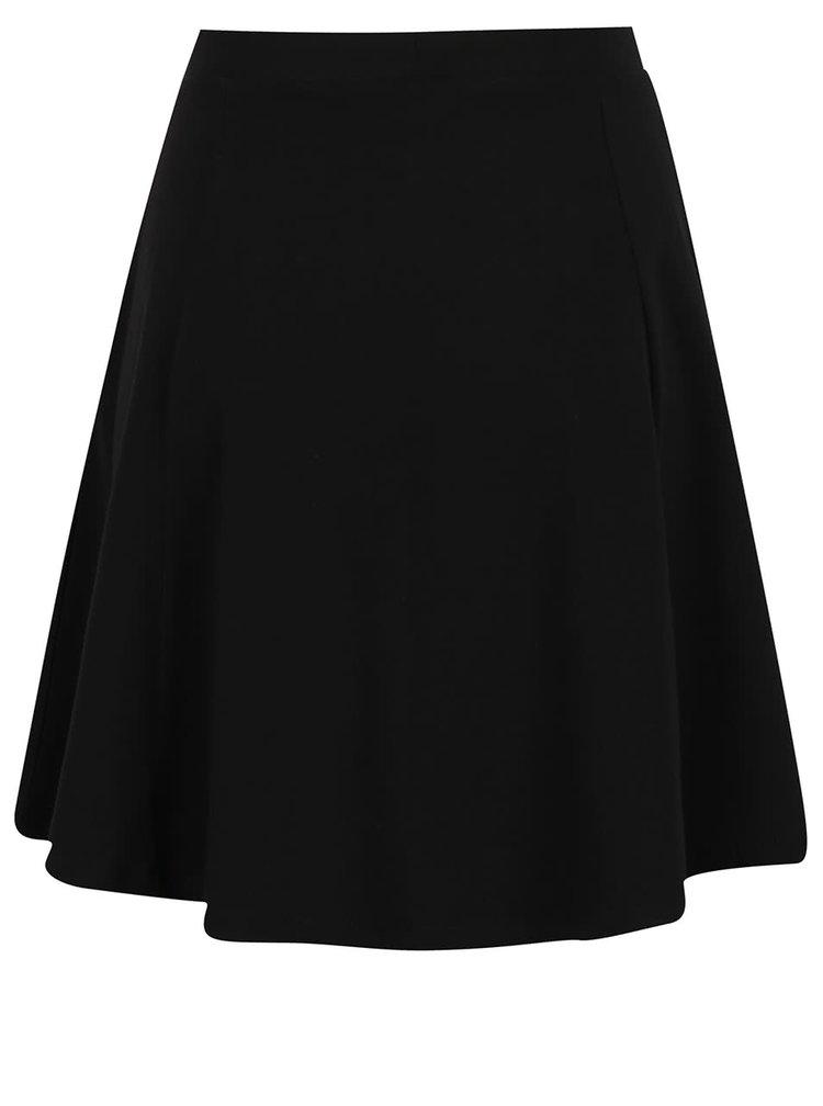 Černá áčková sukně ONLY New Rebecca