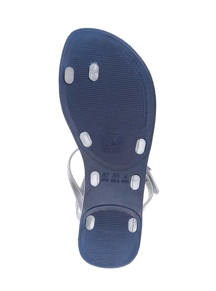 Dámské páskové sandály ve stříbrné barvě Ipanema Sandal