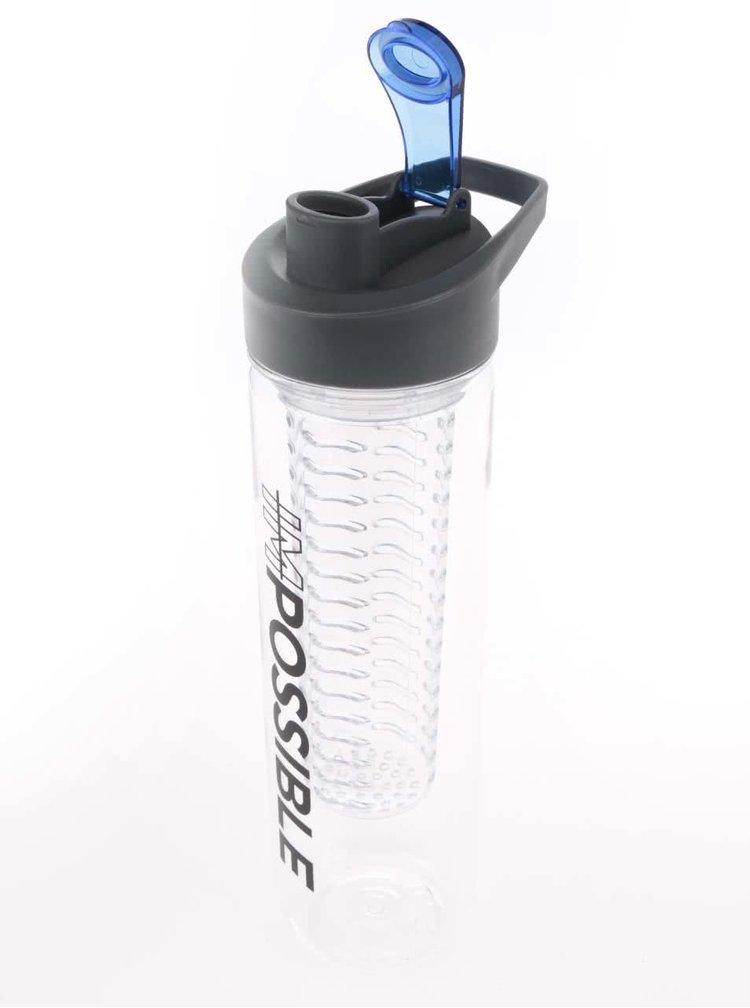 Filtrační láhev na vodu s potiskem Loooqs imPossible