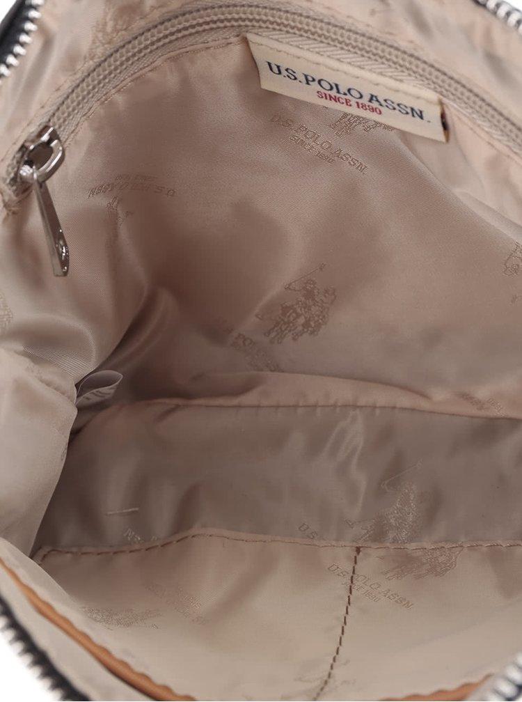 geantă crossbody U.S. Polo Assn. cu model în dungi