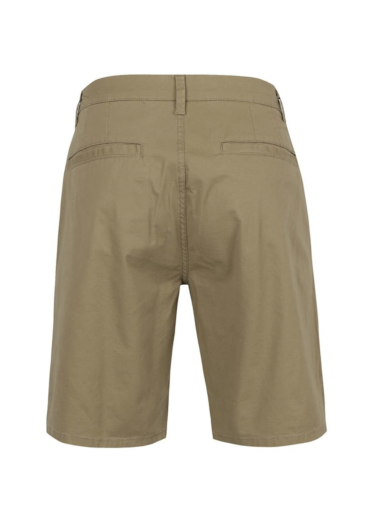 Khaki chino kraťasy ONLY & SONS Holm