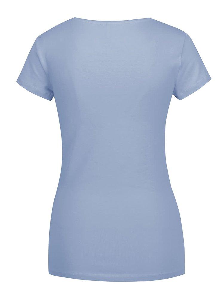 Světle modré tričko ONLY Live