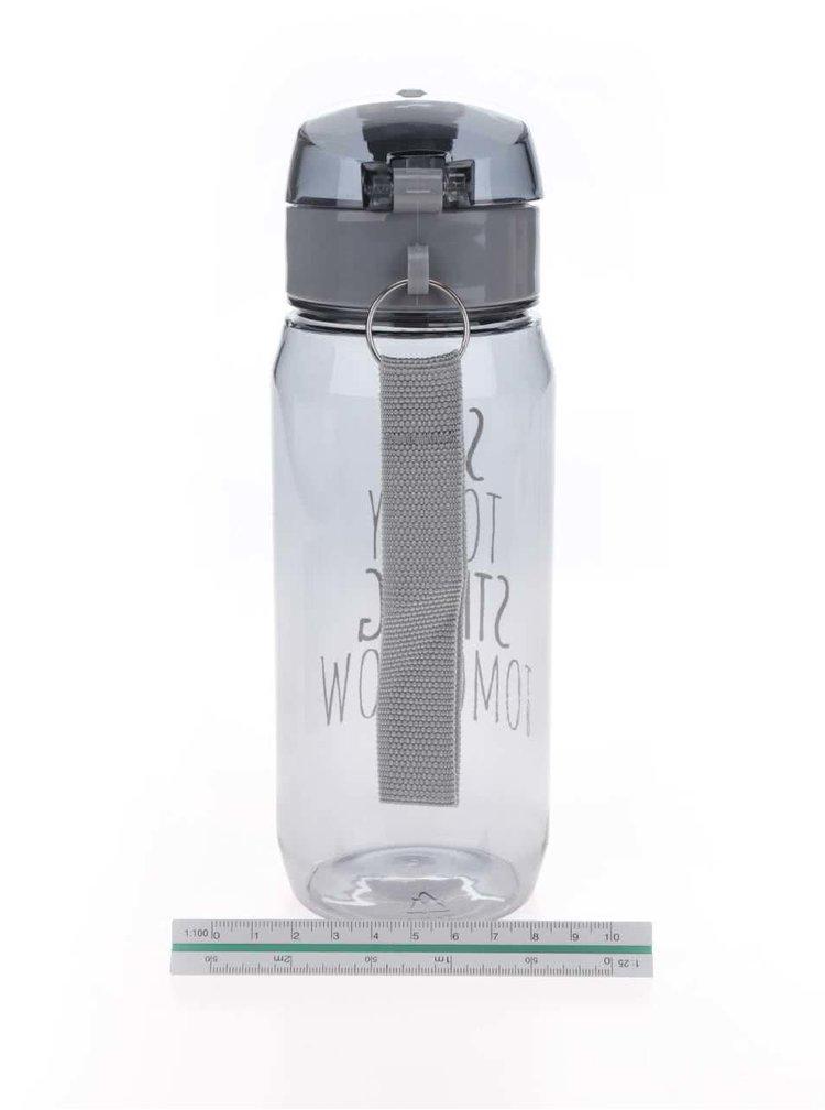 Sticlă pentru fitness gri Looqs Sore Today cu sistem de blocare