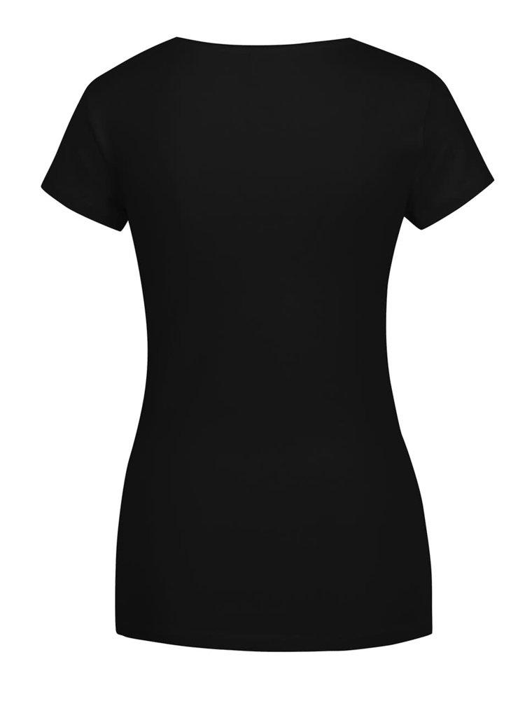 Tricou basic negru ONLY Live
