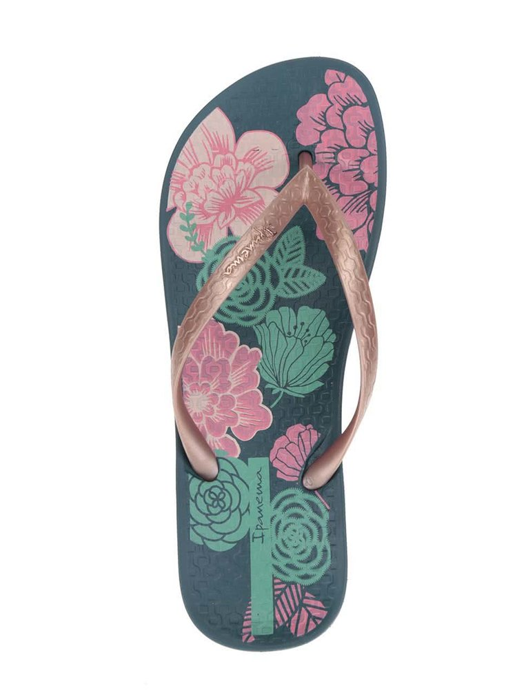 Slapi verde & roz Ipanema Temas