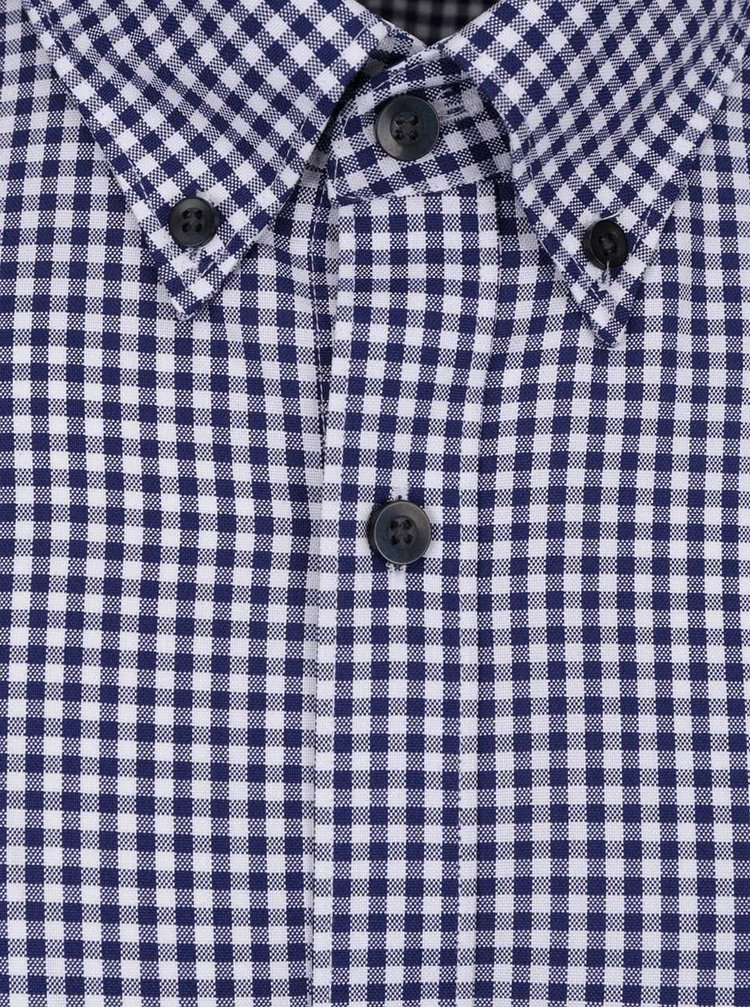 Modrá kostkovaná neformální košile Selected Homme Done