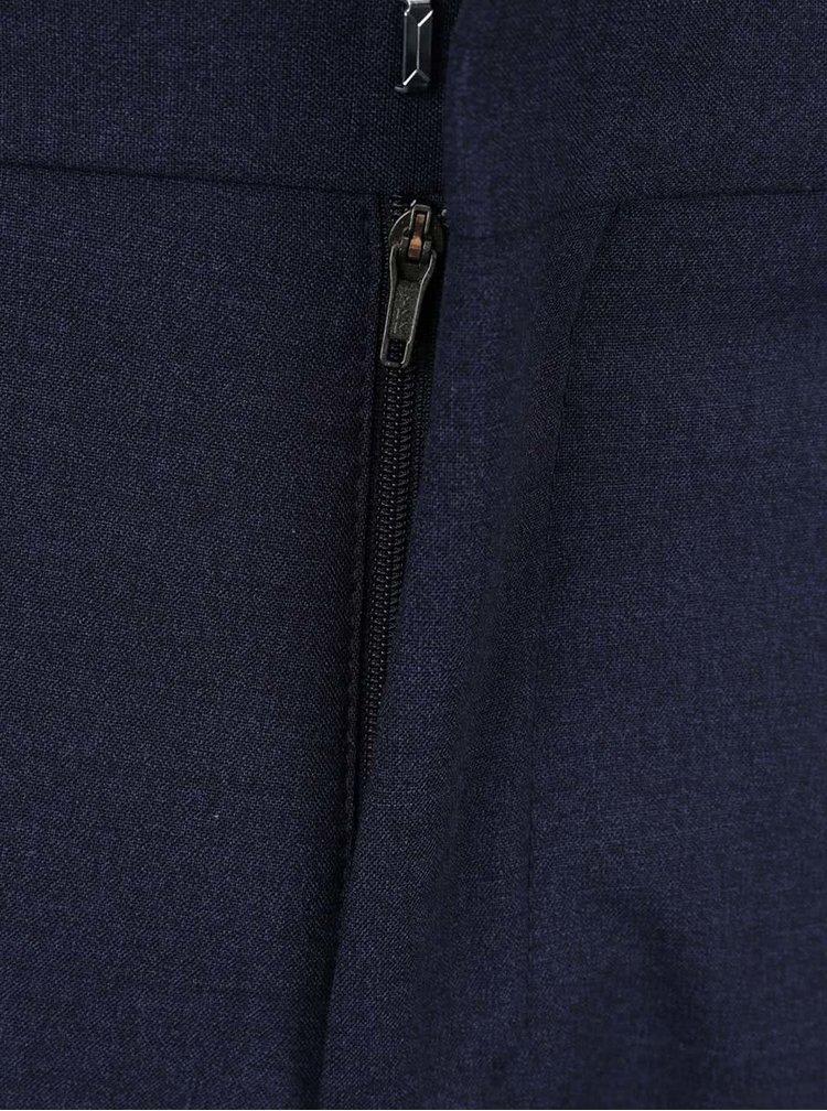 Tmavě modré oblekové kalhoty Selected Homme One