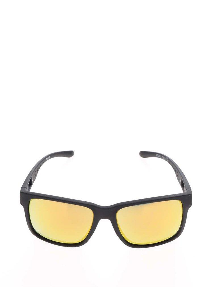 Ochelari de soare maro Dice cu lentile galbene