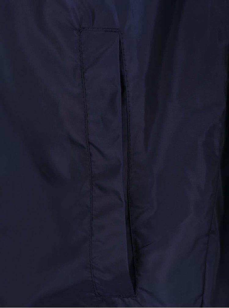 Tmavě modrá lehká šusťáková bunda s kapucí !Solid Horus