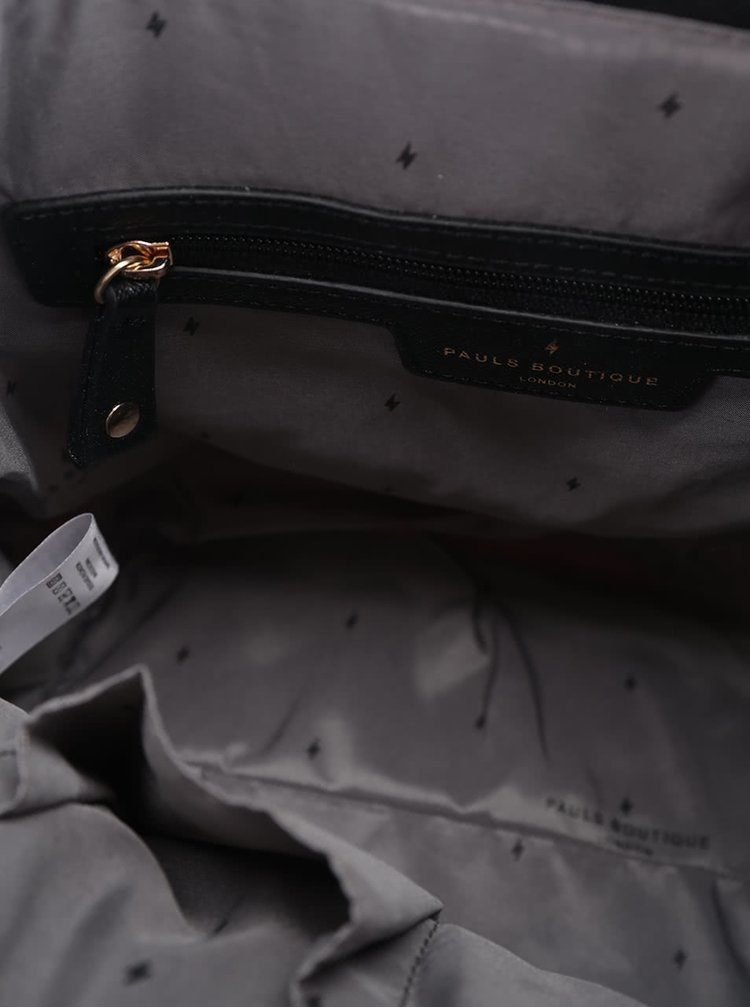 Černá kabelka s barevným potiskem Paul's Boutique Hattie