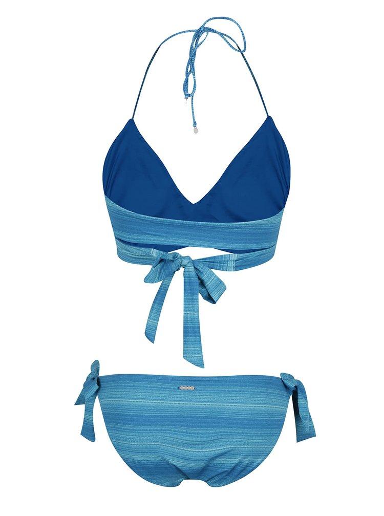 Costum de baie albastru Bench cu model în dungi
