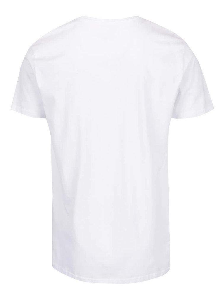 Tricou alb Shine Original din bumbac
