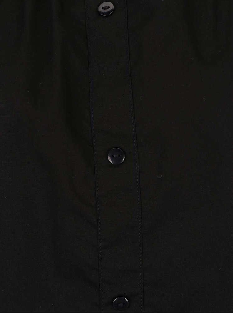 Černý top s odhalenými rameny Noisy May Andrea
