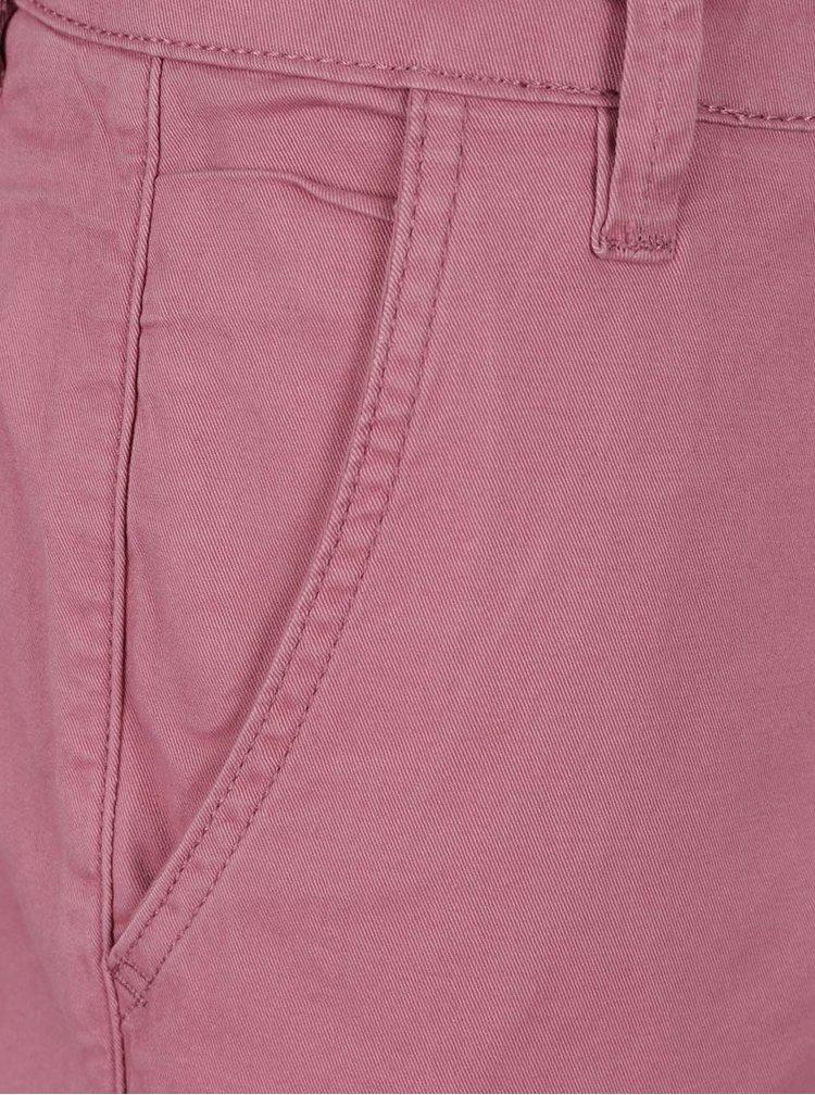 Růžové chino kraťasy Shine Original