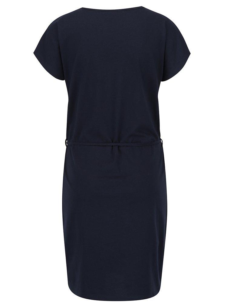 Tmavě modré šaty VERO MODA Omar