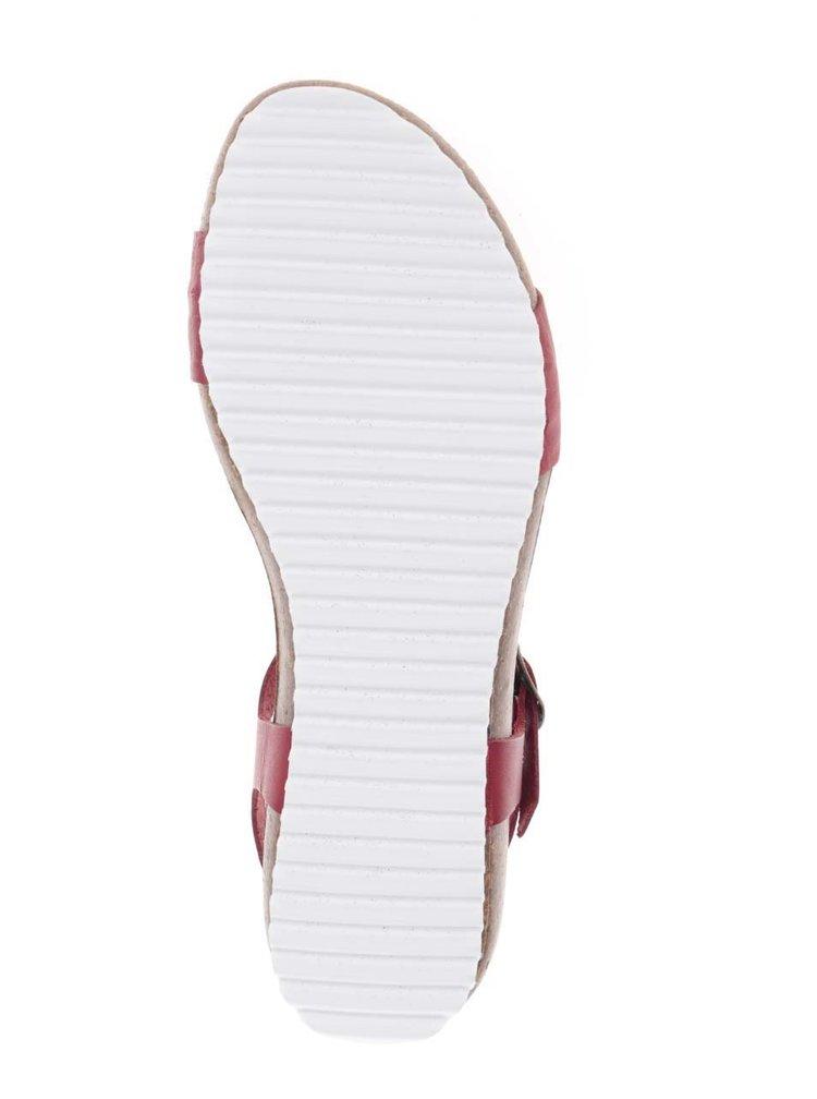 Sandale roșii OJJU din piele