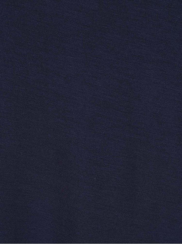 Tricou bleumarin VERO MODA True cu decupaje pe umeri