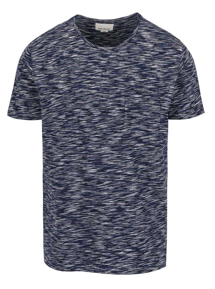 Tricou albastru inchis Shine Original cu model