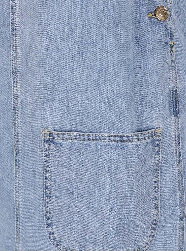 Světle modré džínové minišaty VERO MODA Erica
