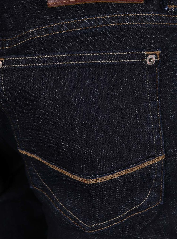 Blugi albastru închis Cross Jeans Johny slim fit