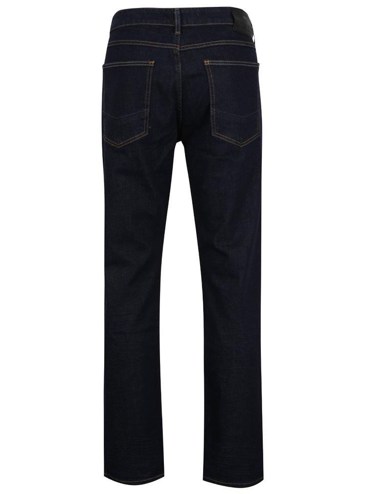 Tmavě modré pánské rovné džíny Cross Jeans Antonio