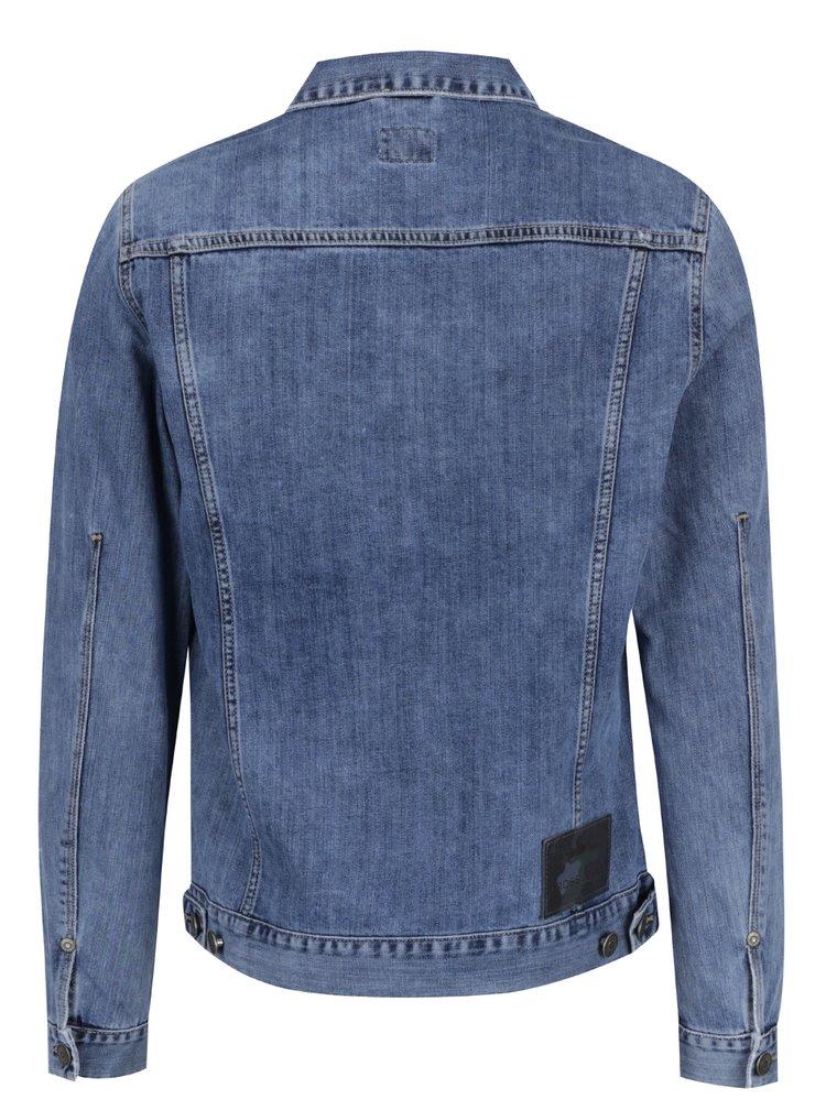 Modrá pánská džínová bunda Cross Jeans