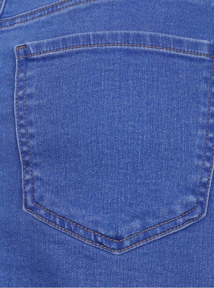 Modrá džínová sukně VERO MODA Beate