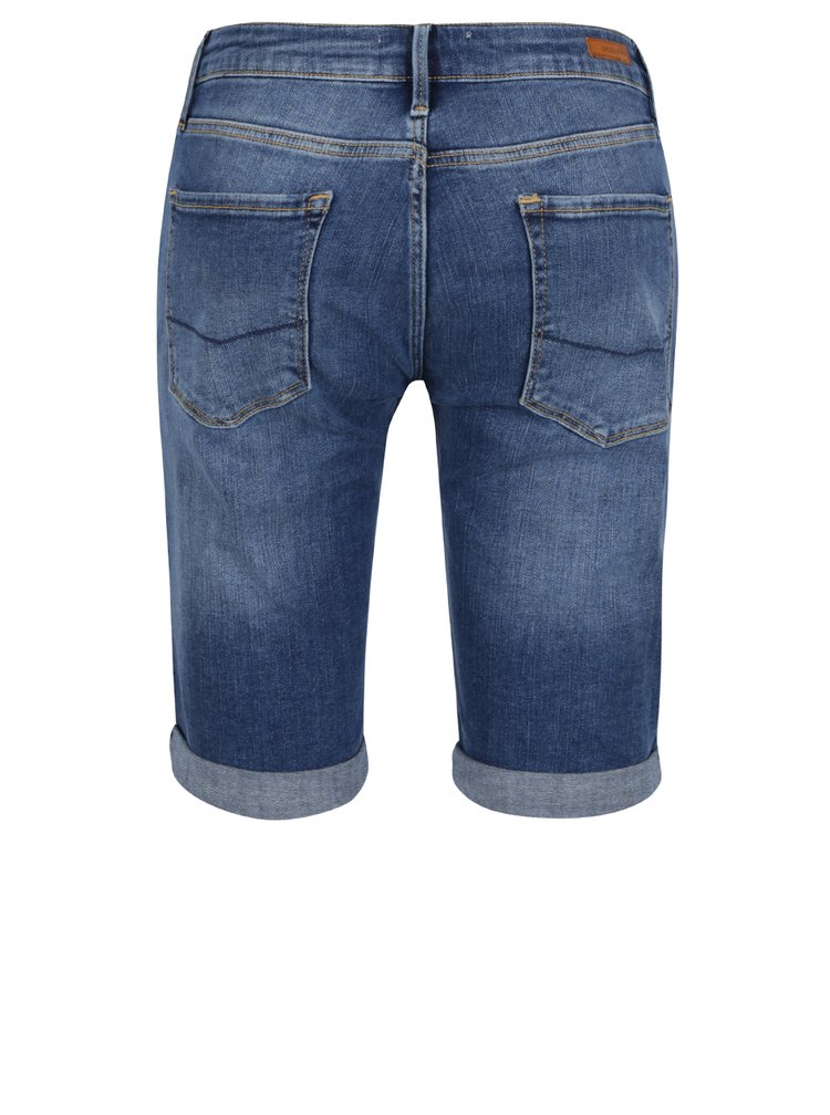 Pantaloni scurți albaștri Cross Jeans din denim