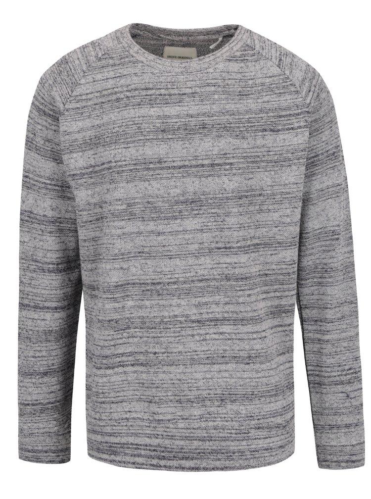 Bluza gri Shine Original din jerseu