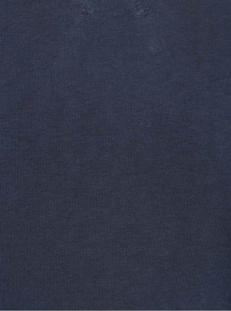 Tmavě modrá mikina Shine Original