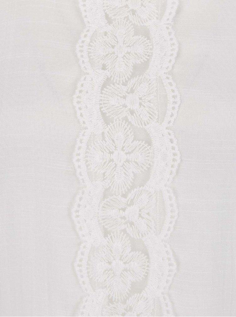 Bílé šaty s krajkou VERO MODA Lacy