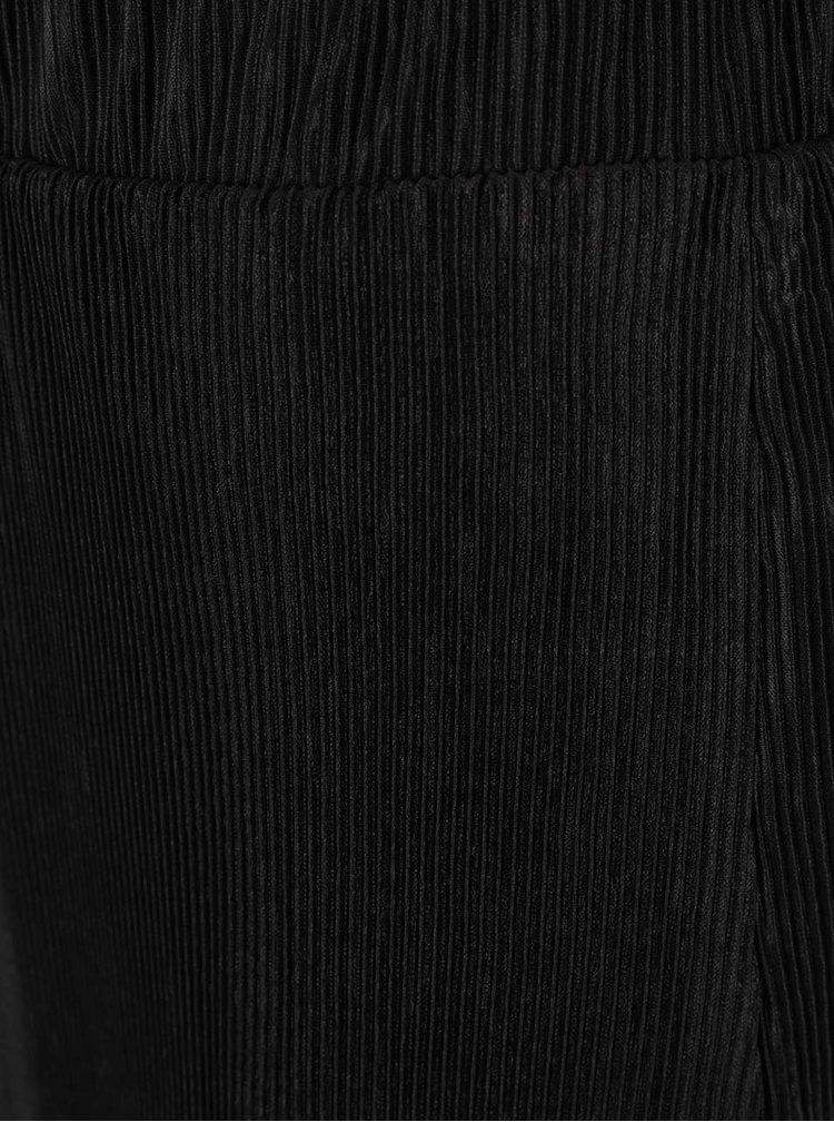 Fustă plisată neagră Noisy May Jasper