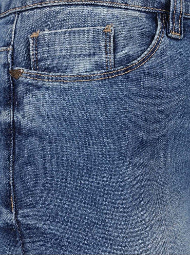 Blugi albaștri VERO MODA Seven cu aspect prespălat