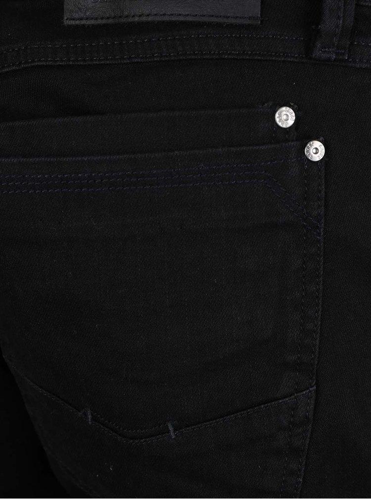 Blugi negri Cross Jeans Dylan cu croi drept