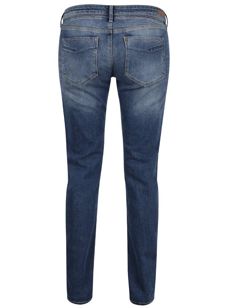 Tmavě modré dámské skinny džíny Cross Jeans Adriana