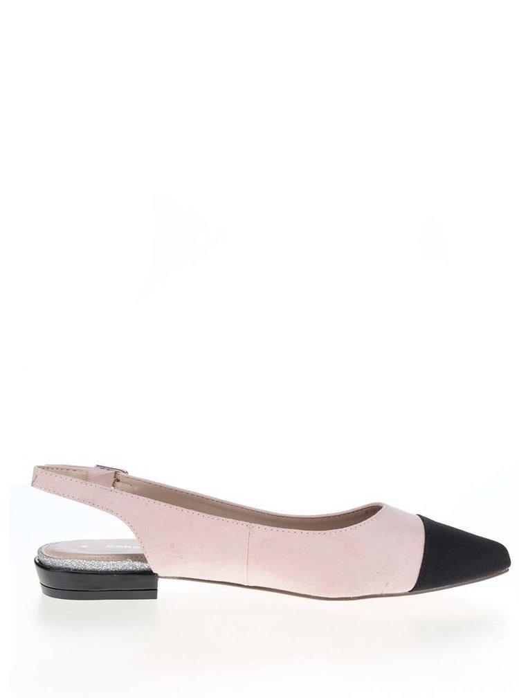 Sandale roz prăfuit Dorothy Perkins cu vârf alungit