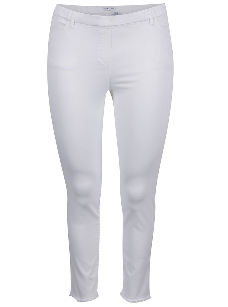 Jeggings albi capri Gina Laura