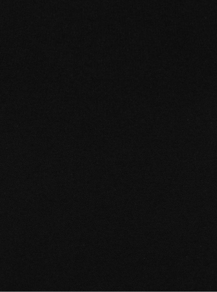 Tricou negru Dorothy Perkins din bumbac