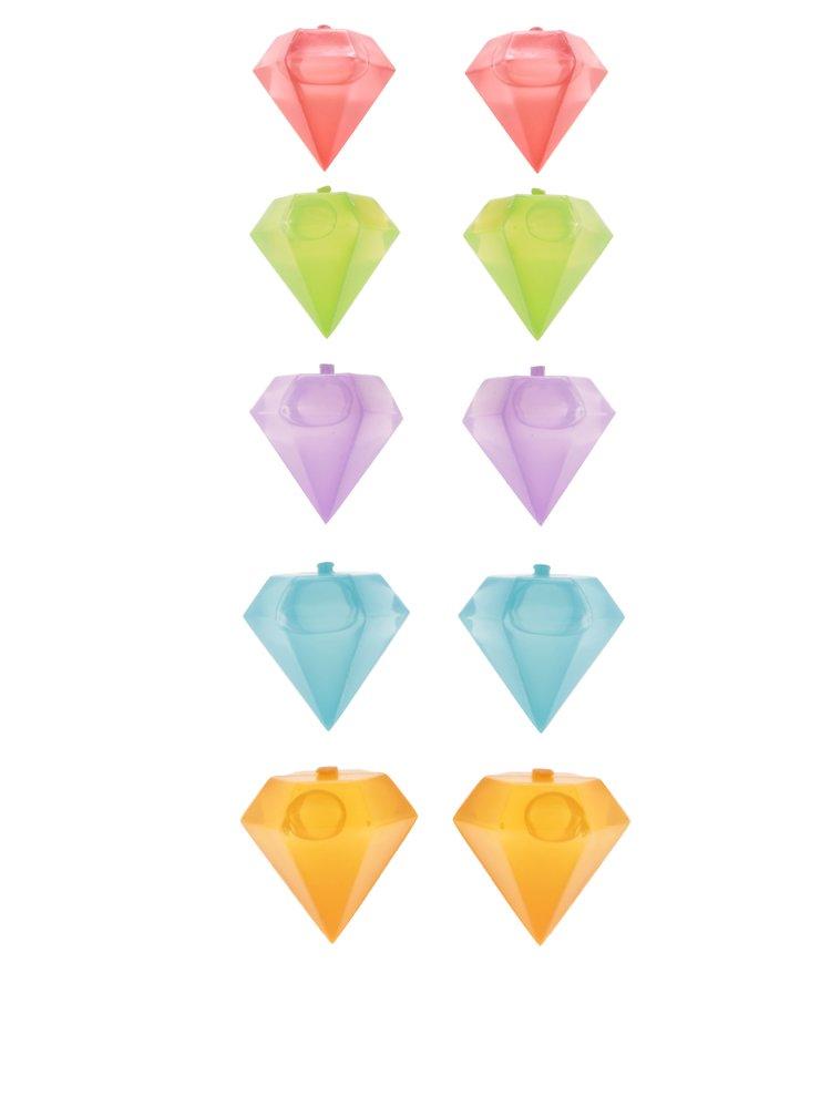 Formičky na led ve tvaru diamantů Kikkerland