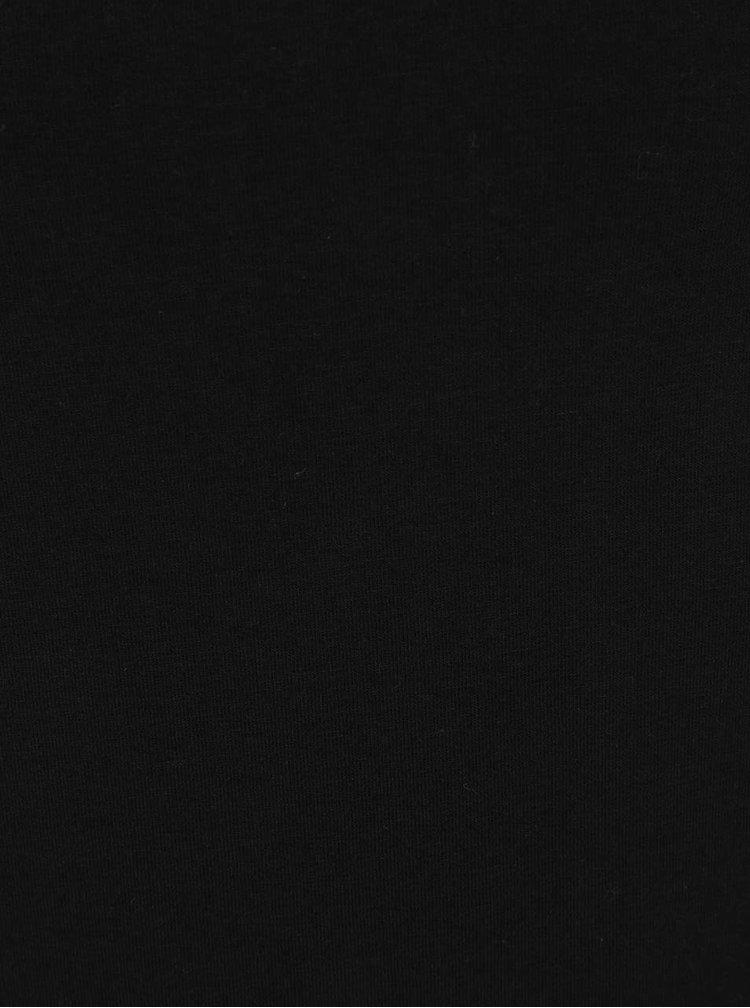 Černý tričko s krajkou Dorothy Perkins